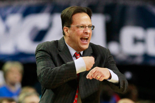 If it wasn't the case before, after this weekend it is apparent, Tom Crean is fighting for his job. (Getty)
