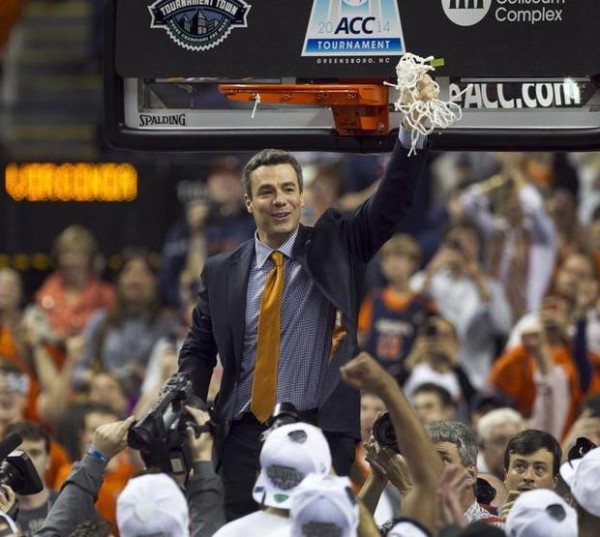 Virginia claimed the ACC crown. (credit: Robert Willett / Raleigh News & Observer)