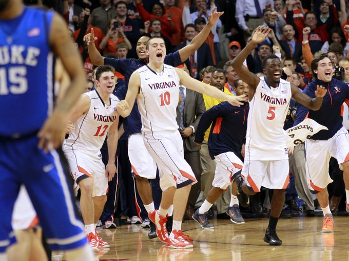 Virginia's dominance of the ACC regular and postseason helped them grab a number one seed (usatoday)