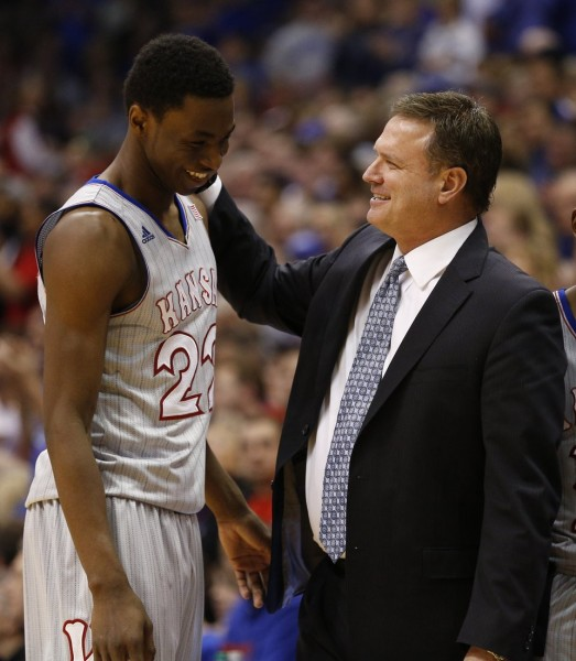 Andrew Wiggins is a pro, but Bill Self has reloaded Kansas once again. (KUSports.com)