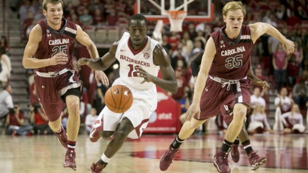 Arkansas' NCAA hopes took a big hit with its loss to South Carolina (utsandiego.com).