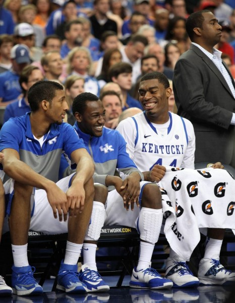 The Wildcats Were All Smiles Heading to Sunday's Showdown (Vicky Graff)