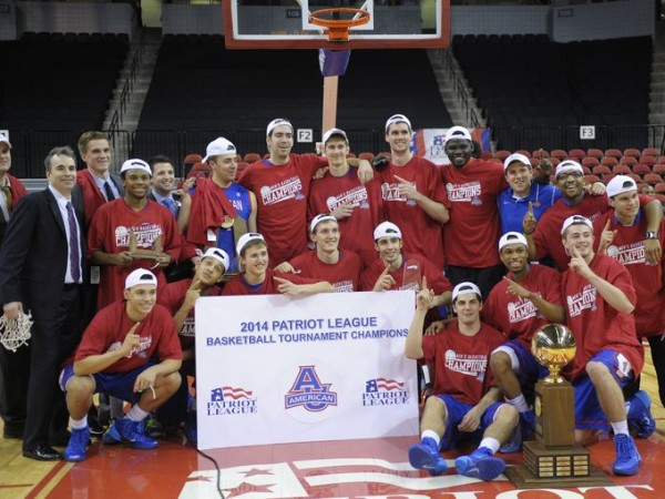 American Seized The Patriot League Title In Emphatic Fashion Wednesday Night. Get Your Dancing Shoes Ready, Eagles!