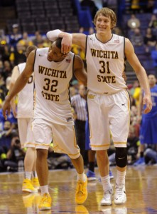 Ron Baker and Tekele Cotton Both Did So Many Little Things For the Shockers (Bill Boyce, Associated Press)