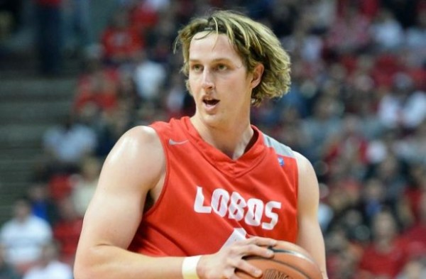 Cameron Bairstow Just Missed On The Conference Player of the Year Honors, But He Joins Two Of His  Lobo Teammates On The All-Conference Teams