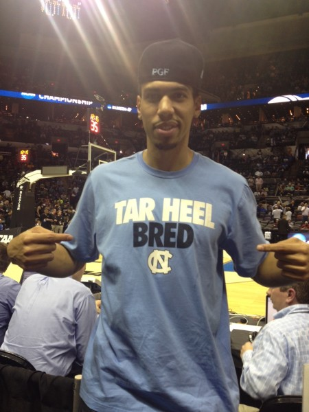 San Antonio Spur Danny Green Came to Support His Team Today
