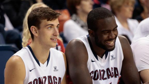 WCC All-Tournament Team Members David Stockton And Sam Dower Keyed Another Gonzaga Title Run In Vegas. Surprise, Surprise -- The Zags Are Dancing Again.