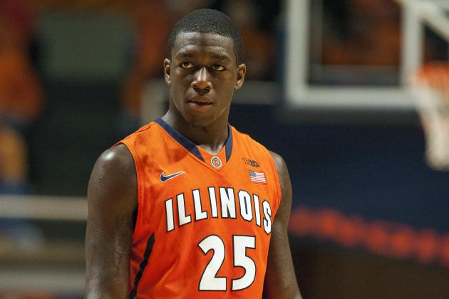 Kendrick Nunn entering the starting lineup has given the Illini hope. (Ruszkowski/USA TODAY)