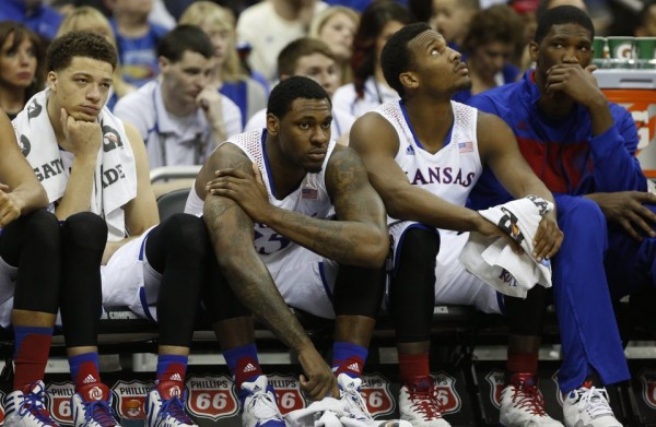 With Joel Embiid out of the lineup, Kansas has been left searching for answers defensively.