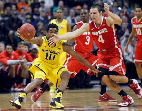 Aaron Craft Couldn't Quite Get it Done on Saturday Afternoon