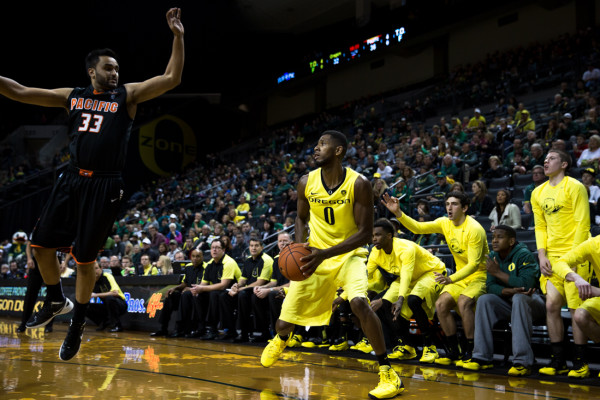 Mike Moser's Play Is A Key For Oregon's Tournament Chances (credit: Michael Shaw)