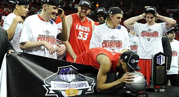 Kendall Williams Threw The Final Dagger, But Another Team Effort Pushed New Mexico To Their Third Consecutive Mountain West Tournament Title
