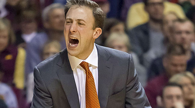 Richard Pitino will look to build for the future as a number one seed in the NIT. (AP)