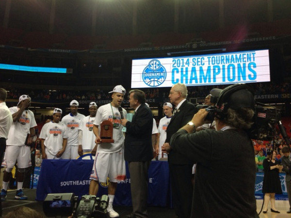 The Gators Held On For the SEC Tourney Title