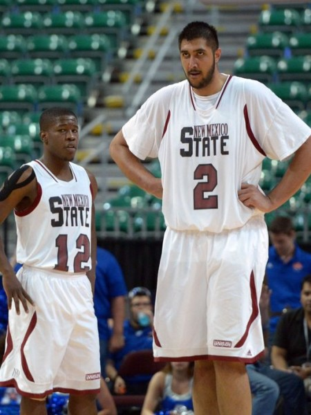New Mexico State's Combination Of Size And Athleticism Could Cause Problems (Kirby Lee, USA Today)