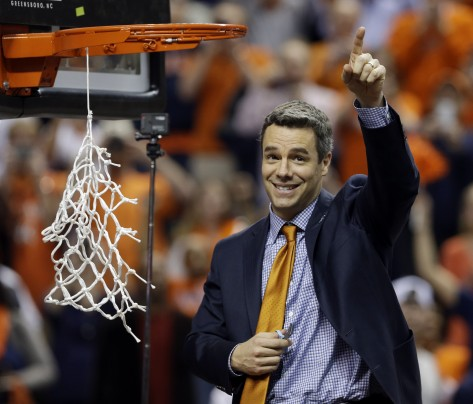 For The Second Time This Season, Tony Bennett And The Hoos' Found Themselves Cutting Down Nets. Virginia Is Your ACC Regular Season And Tournament Champion.