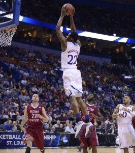 Andrew Wiggins And Kansas Soared By Eastern Kentucky; Will Stanford Be The Jayhawk's Next Victim On Sunday?