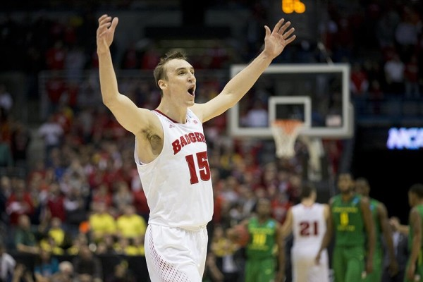 The Wisconsin Home Crowd Carried the Badgers Through to Victory