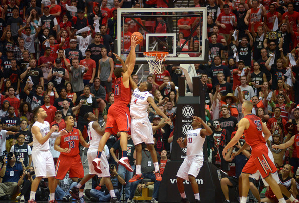 With A Couple Wins, San Diego State Could Get Another Crack At Arizona In The Sweet 16 (Kent Horner, Getty Images)