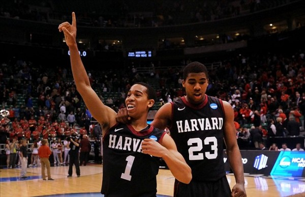 Both Siyani Chambers and Wesley Saunders return to Cambridge next season. (Steve Dykes/USA Today Sports)