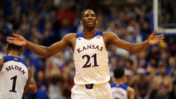 Kansas big man Joel Embiid will enter the 2014 NBA Draft.