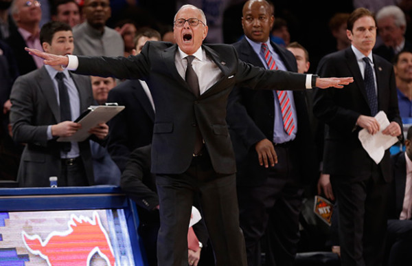 Associated Press Larry Brown coached SMU to the NIT Final at MSG, where he used to coach the Knicks. He hopes to get to another place he's coached: the Final Four.