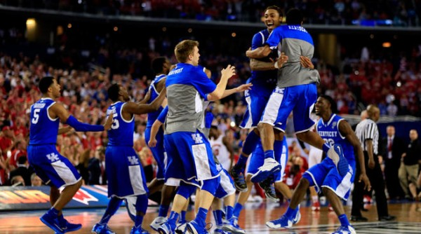 Kentucky Will Play For The Program's Ninth National Title On Monday Night