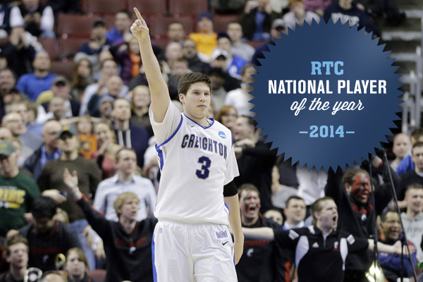 Creighton's Doug McDermott Brings His Special Collegiate Career to the NBA (AP Photo/Matt Slocum)