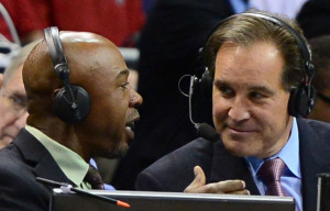 """If You Tired Of Jim Nantz And Co. Calling The Final Four Action On TBS Saturday Night, Don't Use The Mute Button Before Checking Out The """"Teamcasts"""" On TNT And TruTV"""