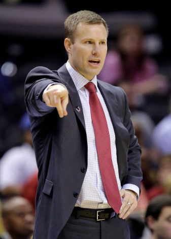 As odd as it sounds, Fred Hoiberg is winless against Mike Anderson, but The Mayor will have a talented Cyclone squad and a raucous home crowd at his back this December. (Eric Gay/AP).