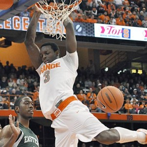 Jerami Grant Feasted At The Rim During His Brief Stint At Syracuse; Developing A More Varied Offensive Game Will Be A Point Of Emphasis For At The Next Level