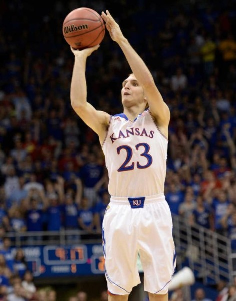 Conner Frankamp struggled last season to find sustained playing time with Kansas, but shot 50 percent from the floor in the Jayhawks' two NCAA Tournament games. (Mark Gunnoe/Topeka Capital-Journal)
