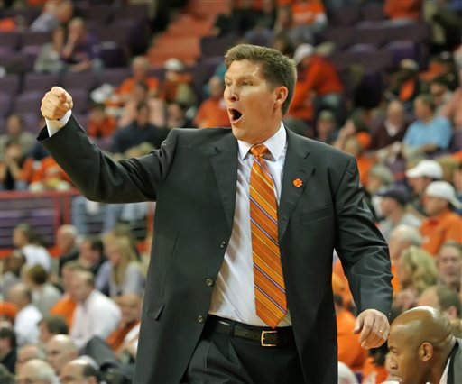 Brownell's will get another six years at Clemson to try to continue to build on recent success (credit: Associated Press)