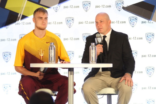 Senior Jonathan Gilling Had Head Coach Herb Sendek Speaking In Glowing Terms (Pac-12 Conference)