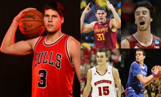 "With Doug McDermott now earning checks that say ""NBA"" on them, these four guys (Iowa State's Georges Niang, Wisconsin's duo of Frank Kaminsky and Sam Dekker, and Georgia State's RJ Hunter) are prime candidates to pick up where McDermott left off."