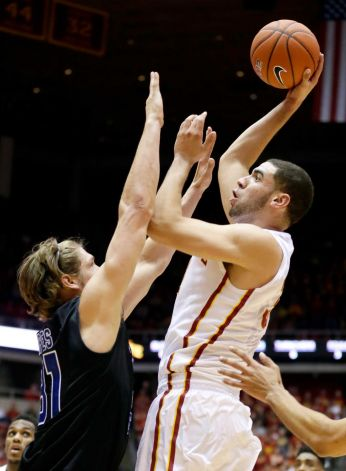 Georges Niang and the Cyclones look to boost their case a Big 12 contender this week in Kansas City. (Charlie Neibergall/AP)