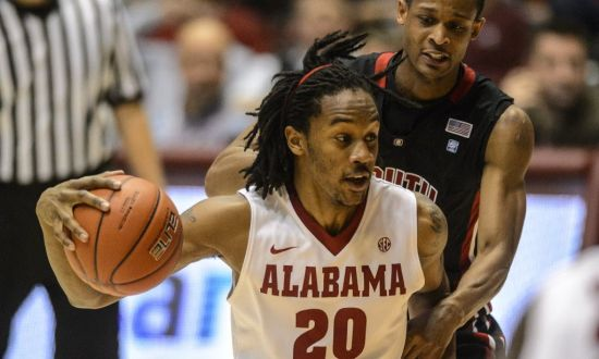 Levi Randolph is Alabama's top returning scorer. (AL.com/Vasha Hunt)