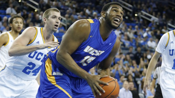 UC Santa Barbara's Alan Williams has been out with a shoulder injury. (AP)