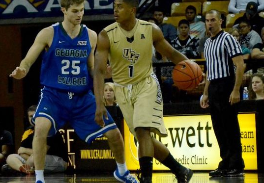 Central Florida's B.J. Taylor Fills Up A Box Score Like No Other AAC Freshman (Photo: Ashley White / Central Florida Future)