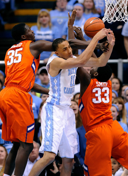 Johnson will need to use his added bulk to help him bang with the bigs in the ACC this year (gettyimages)