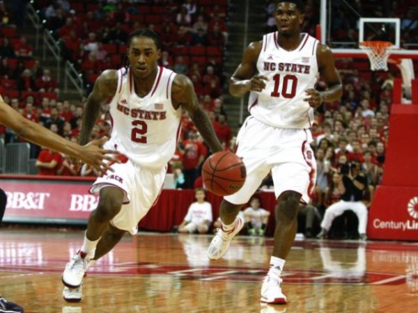 Barber needs to utilize his speed but keep turnovers low to help move NC State along (credit: wralsportsfan.com)
