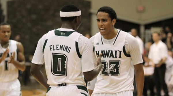 Hawaii pulled off a surprising victory over Pittsburgh on Friday. (UH Athletics)