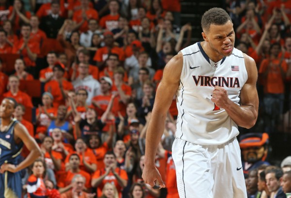 Virginia is counting on even more intensity and production from Justin Anderson as he moves into the starting lineup (UVA Athletics)