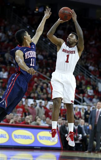 Trevor Lacey had a sensational second week to keep the Wolfpack undefeated on the year (APPhoto)