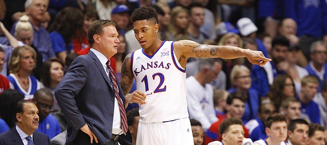 Bill Self is still trying to find the right rotation this year. (KUSports.com)