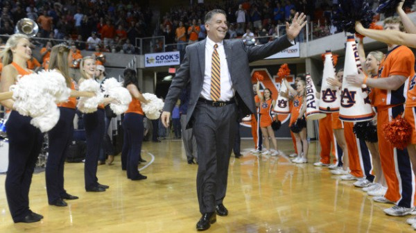 Bruce Pearl is Back in the SEC and Happy (Lauren Barnard)