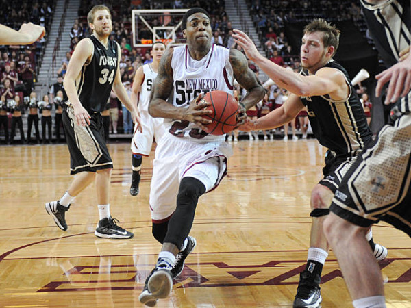 Daniel Mullings should pace New Mexico State to another WAC title. (nmstatesports.com / Tim Barnett-Queen)