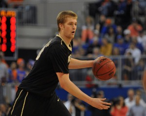 Josh Henderson's return from injury should give the Commodores a boost. (Getty Images)