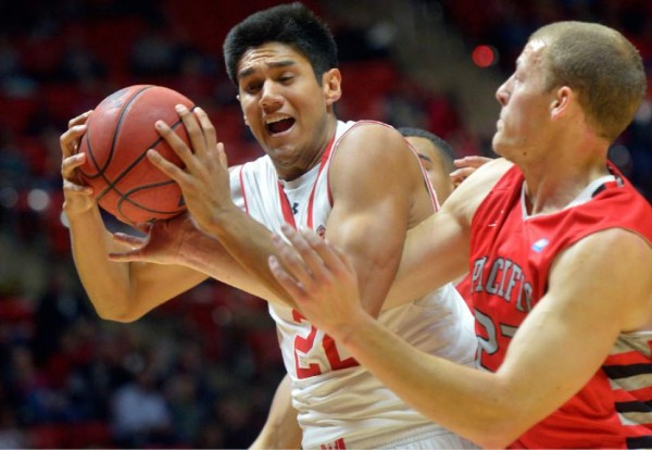 Chris Reyes, Along With Jakob Poeltl and Brekkot Chapman Stood Out For The Utes (Chris Detrick, Salt Lake Tribune)