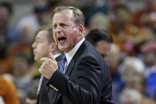 Did we mention Rick Barnes won Big 12 Coach of the Year? No? Well yeah, he did. (Troy Taormina/USA Today Sports Images)
